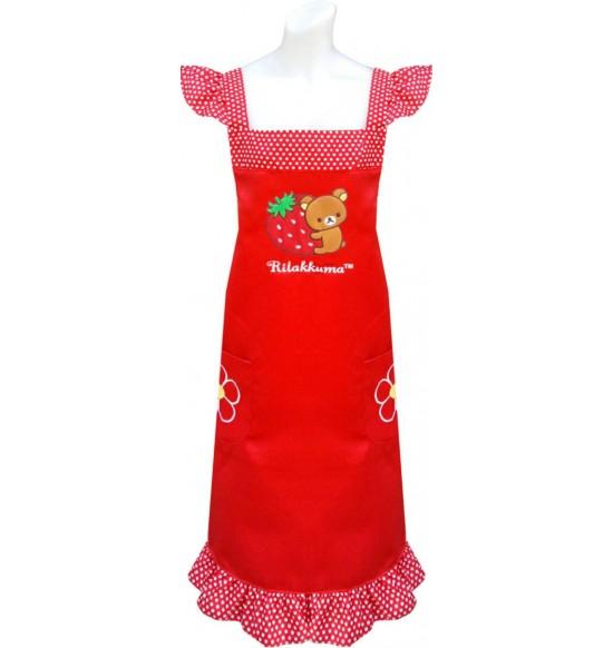 RKG-20901 Rliakkuma 草莓圍裙(電繡) 紅色