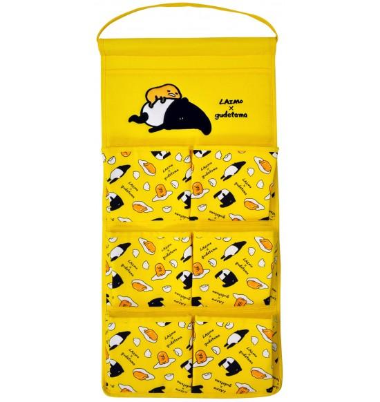 GU-730001 蛋黃哥X馬來貘收納7口掛袋