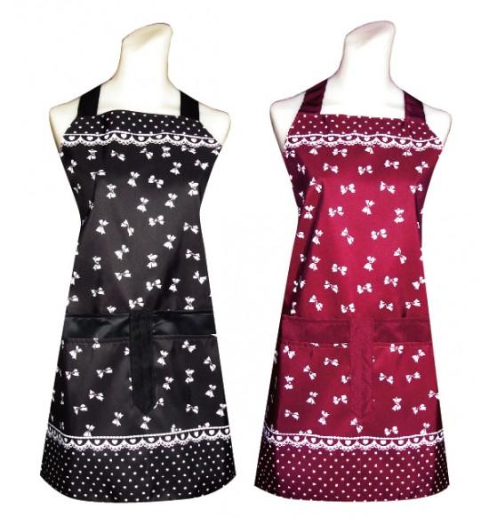 CC506 蝴蝶結圍裙(四口錢袋)