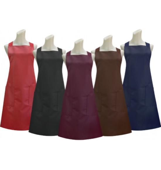 G518 素色防水兩口圍裙