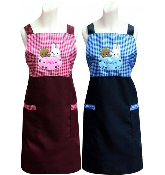 TT505 好麻吉圍裙(貼布繡)