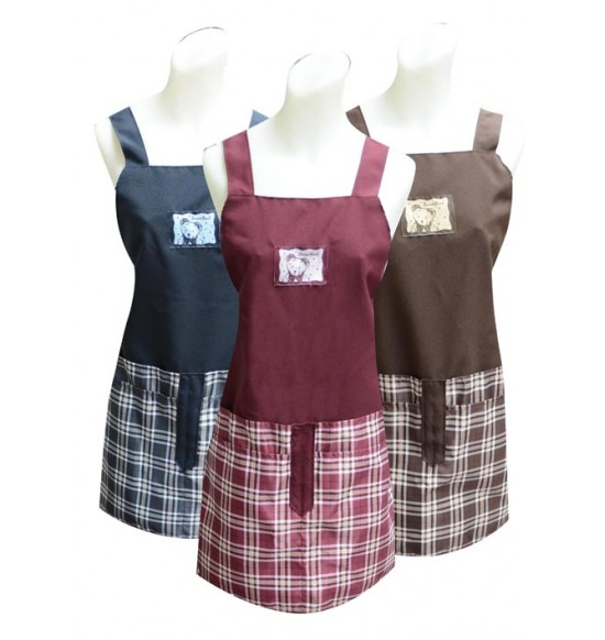 TT513 熊寶寶四口錢袋圍裙