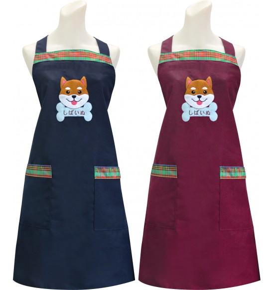 TT523 柴犬貼布圍裙