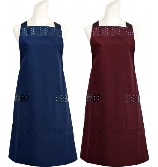 WH501 簡約點點防水圍裙