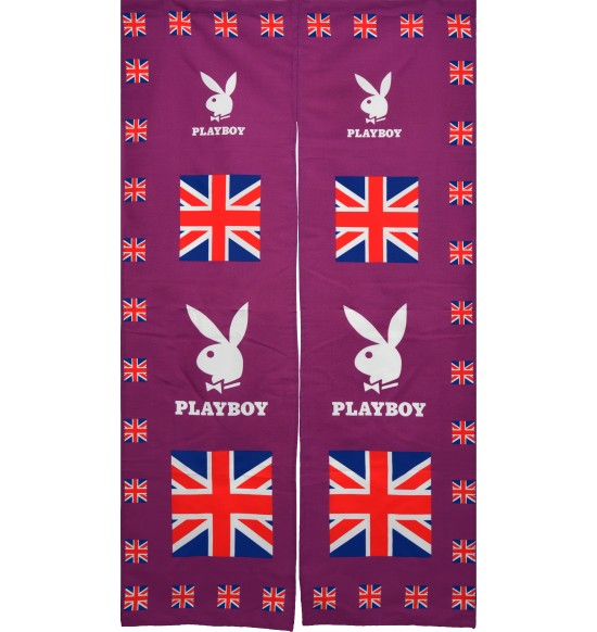 PL-9268 PLAYBOY英國國旗長門簾