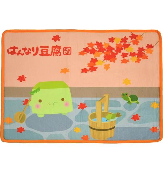 BA779 溫柔的豆腐地墊-橘