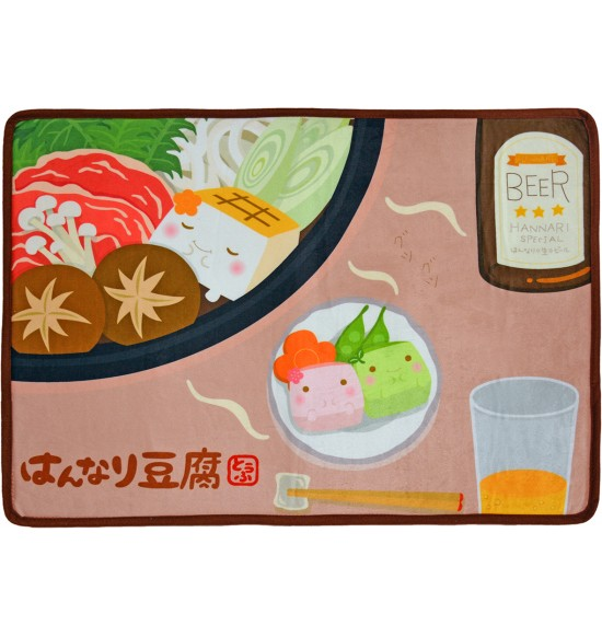 BA780 溫柔的豆腐地墊-咖