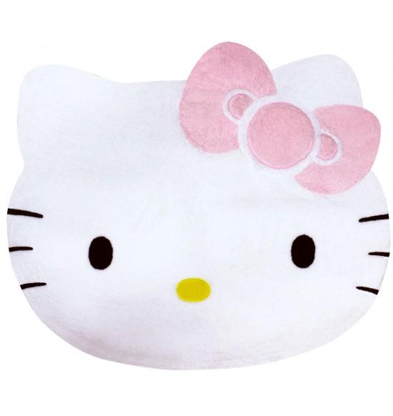 Hello Kitty 造型絨毛地墊 (白)