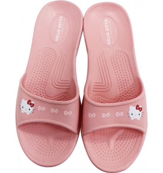 Hello Kitty 超輕量環保室內拖鞋 (粉)