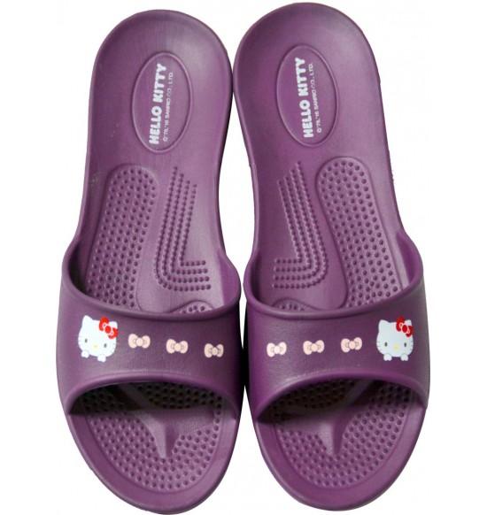 Hello Kitty 超輕量環保室內拖鞋 (夢幻紫)