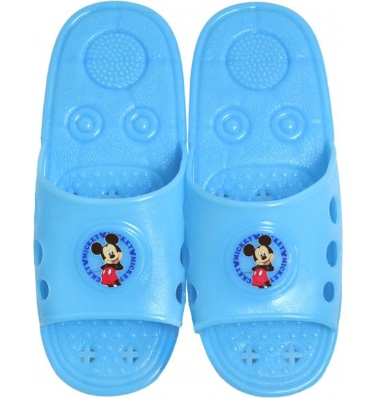MK-7556 米奇浴室拖鞋-藍